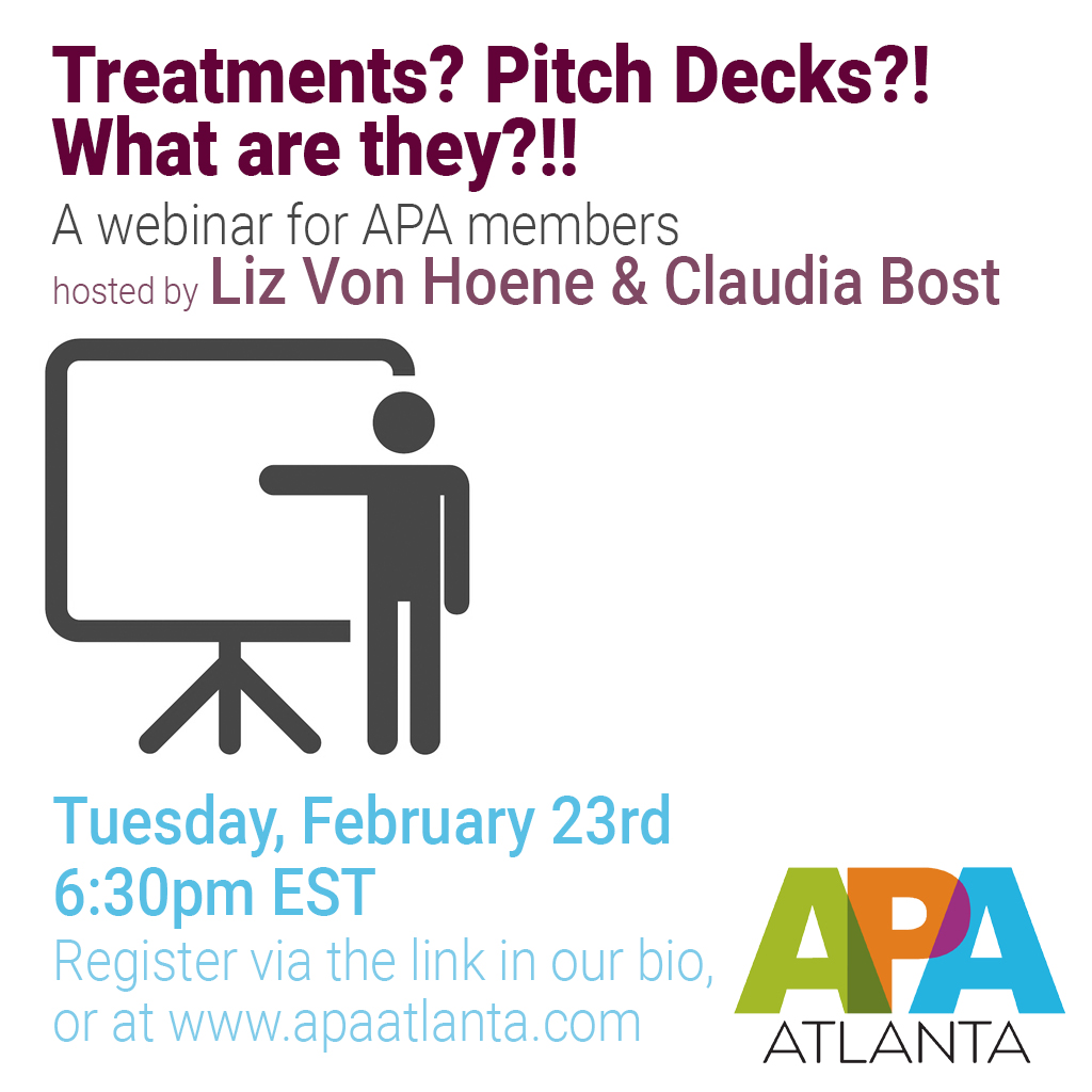 Treatments? Pitch Decks? What Are They?!